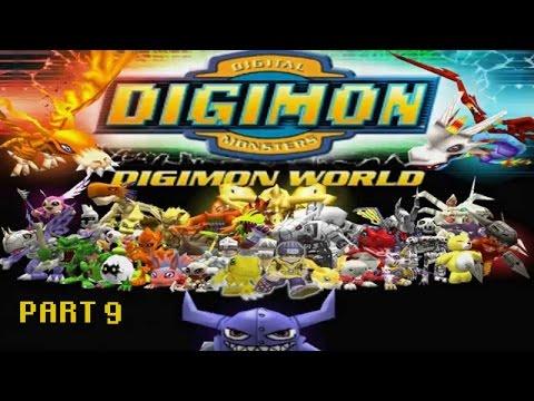 Digimon World part 9:Lake Guardian Caught
