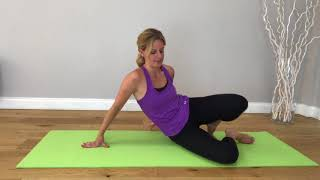 #28 Studio Scoop Pilates   Improver level   Stabilising the shoulders