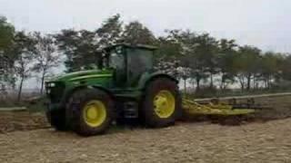 John Deere 7730  i agregat - maszyny rolnicze - rolnictwo