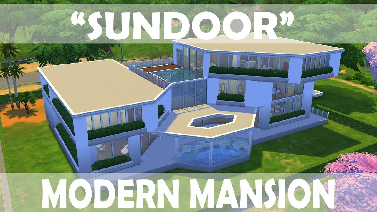 Modern Mansion The Sims 4 Houses