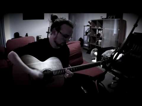 caynug - time goes by so fast | percussive alvarez abt60 acoustic baritone guitar jam