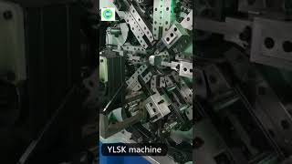 YLSK-35 3 axis 3.5mm multi slide wire spring forming machine
