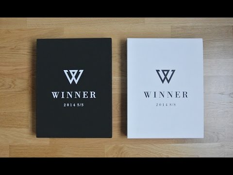 [UNBOXING] Winner - 2014 S/S Limited edition (white and black) [Kpoptown Unboxing]