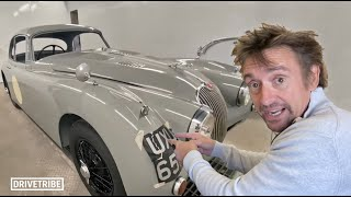 The interior of Richard Hammond's project car is coming together
