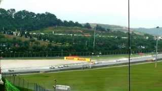 Exciting opening lap and crash of Fernando Alonso  F1 Malaysia Grand Prix 2013