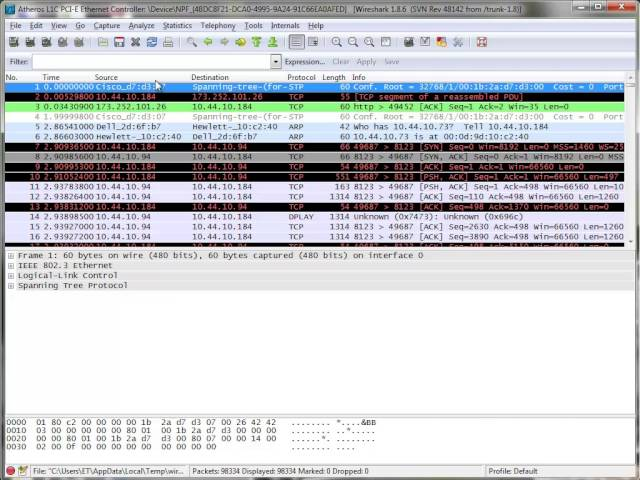 Hunting For Devices With ARPS And Wireshark