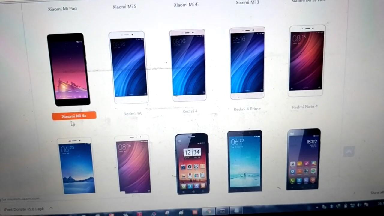 Tutorial Flashing Xiaomi Mi 4c Via Flashtool Youtube Mi4c 2 16 Garansi 1 Tahun