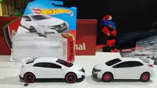 Hotwheels lebih baik jika dibandingkan dengan tomica cool drive. #h...