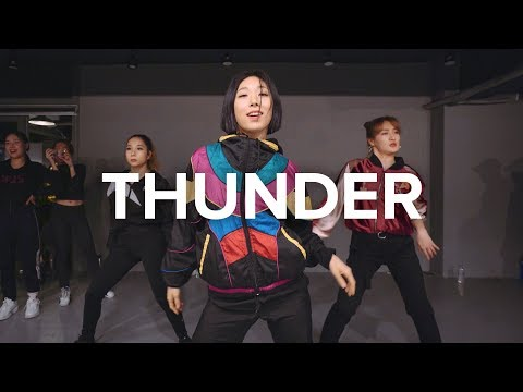 Cover Lagu Thunder - Imagine Dragons / Lia Kim Choreography STAFABAND