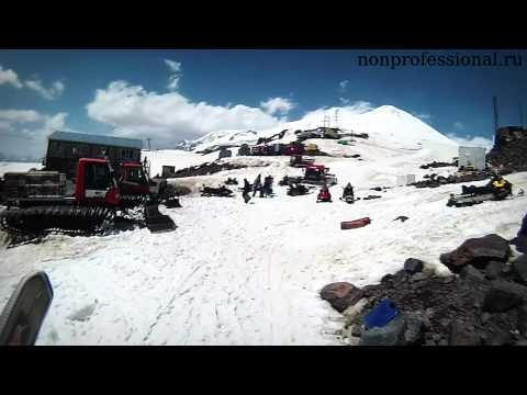 Как покататься летом на горных лыжах, на Эльбрусе