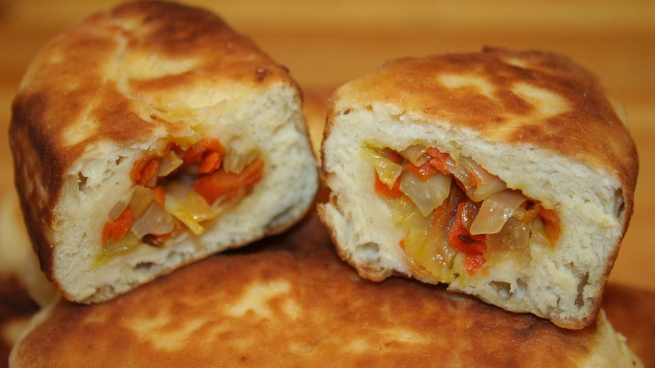 Бездрожжевое тесто для пирожков в духовке рецепт с фото