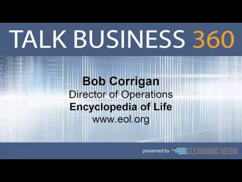 TALK BUSINESS 360 Interview with Encyclopedia of Life