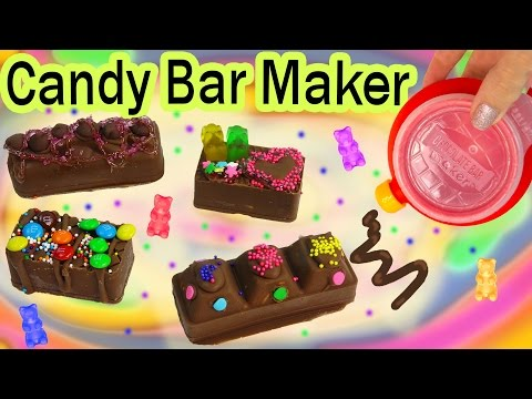 CHOCOLATE CANDY BAR Maker Kit Set REAL FOOD Set Does It Work? Testing Video