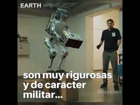 Atlas el robot de boston dinamics