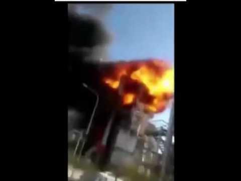 Iran Uranium Enrichment facility - Explosion