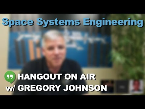Hangout on Air with Gregory Johnson (CASIS, NASA, USAF)