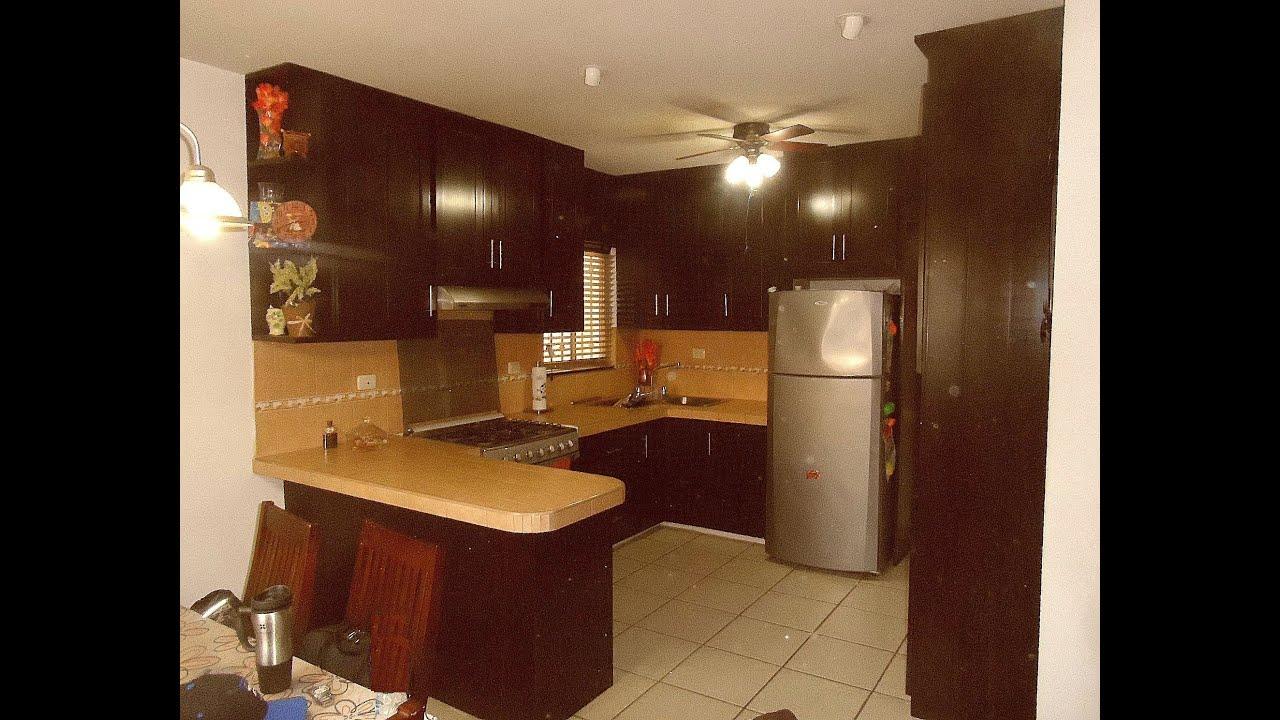 Cocina de pvc elegante con interior muroblock youtube for Interior de muebles de cocina