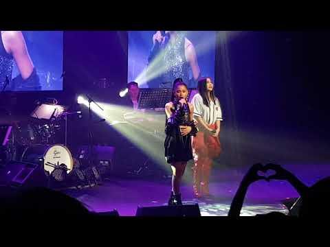 Ylona Garcia and Yeng Constantino showdown at YLONA Arrival concert