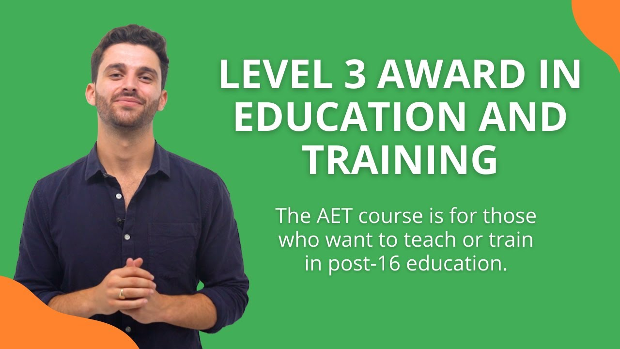 Level 3 Award in Education and Training | Get Licensed