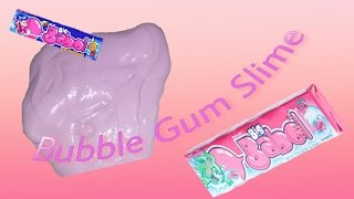 DIY BUBBLE GUM SLIME