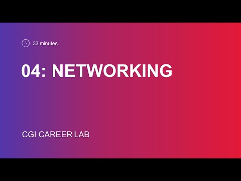 Networking : best tips from a recruiter