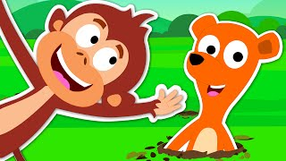 Pop Goes The Weasel | Nursery Rhymes For Kids And Children's
