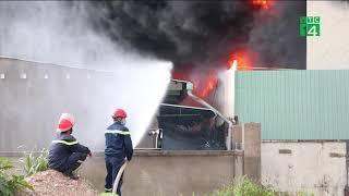 Cháy lớn trong Khu công nghiệp ở Bình Dương | VTC14