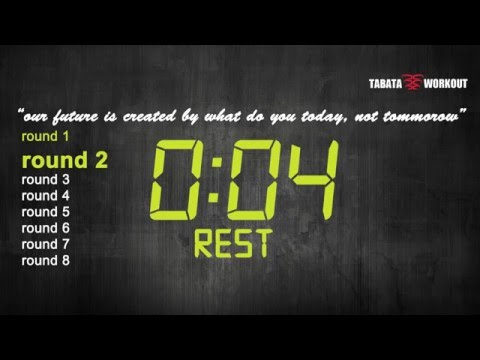 TABATA WORKOUT - timer and motivation