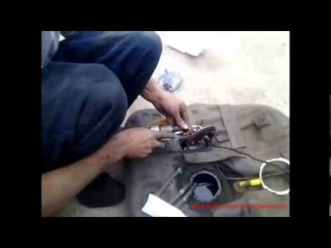 Tutorial How To Change A 1995 Mazda Mx6 Fuel Pump Youtube