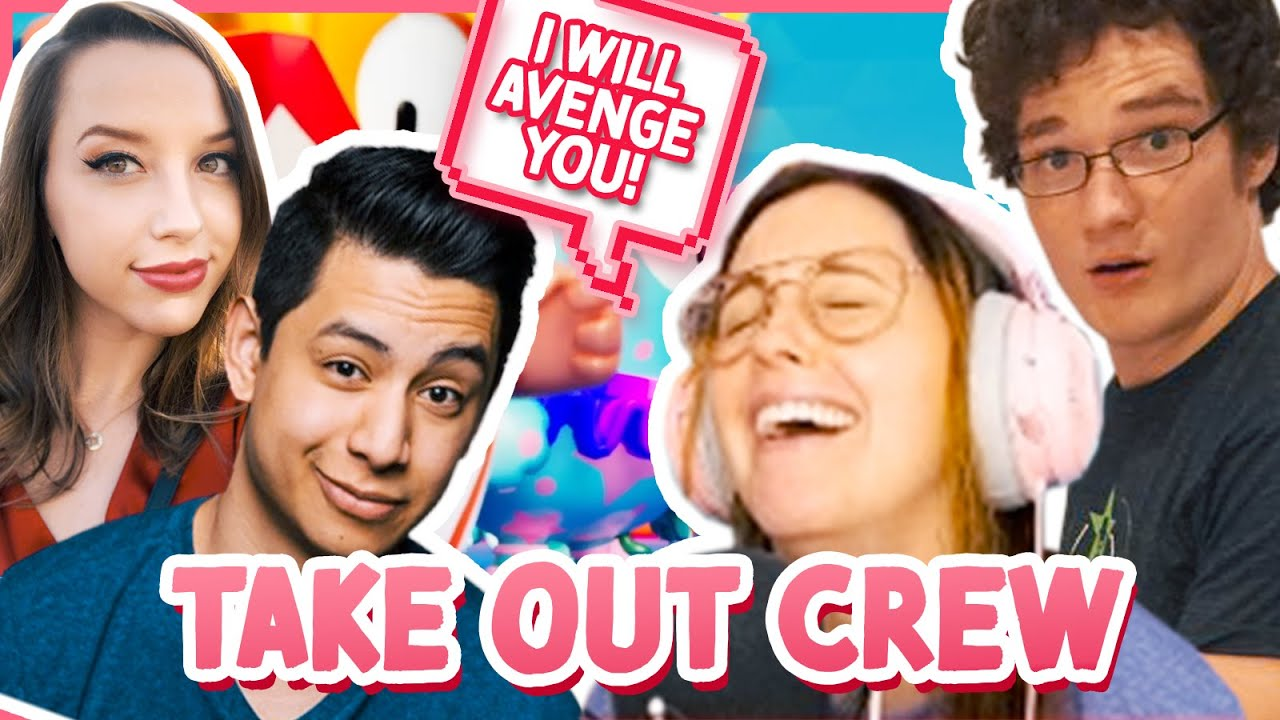 I'm HACKING! Fall Guys With The TakeOut Crew - Meg Turney
