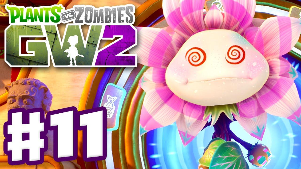Plants vs  Zombies: Garden Warfare 2 - Gameplay Part 11 - Royal  Hypno-Flower Boss Fight! (PC)