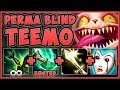 WTF! PERMA BLIND TEEMO CANNOT TAKE DMG FROM AUTOS?? TEEMO SEASON 9 TOP GAMEPLAY! - League of Legends