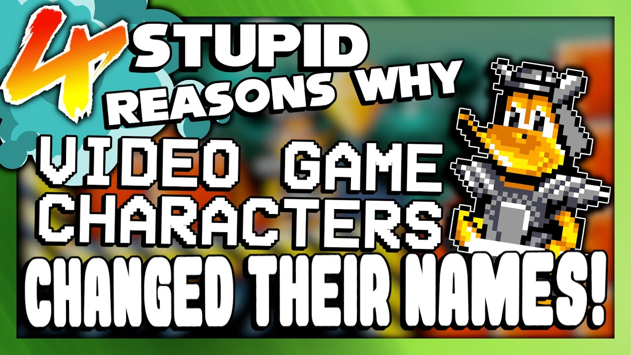 4 Stupid Reasons Why Video Game Characters Changed Their Names (Ft. DJSlopesRoom) | Larry Bundy Jr