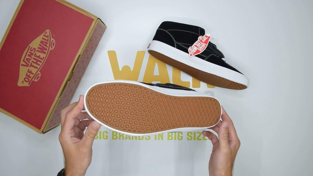 3481657a9bef76 Vans Half Cab - Black - Unboxing