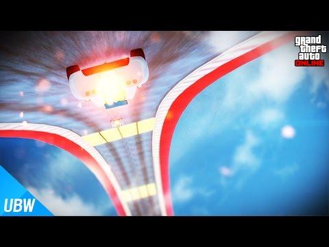 360°로 회전 후 자유 낙하!! [로켓 볼틱 스턴트 레이스: 루프, 꿀벌] GTA5 - 울산큰고래