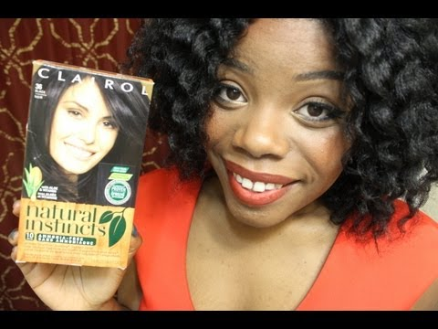 Natural Hair | Clairol Natural Instincts Results !