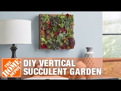 diy-wall-planter-for-succulents- -the-home-depot