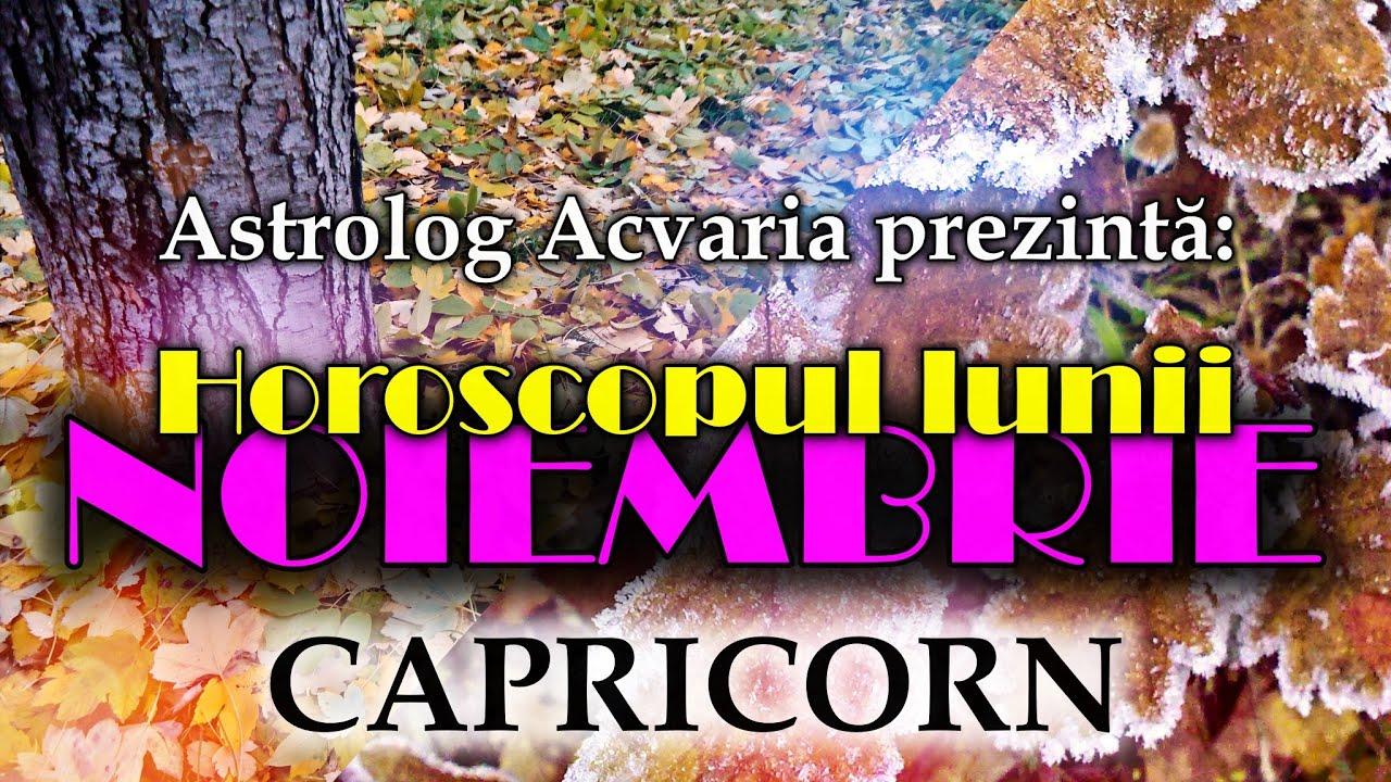 Esti nativ CAPRICORN sau ai ascendentul in CAPRICORN? * Horoscopul lunii NOIEMBRIE * Mari pregatiri