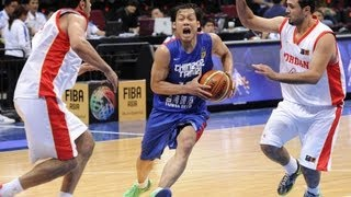 #FIBAAsia - Day 1: Jordan v Chinese Taipei (highlights)