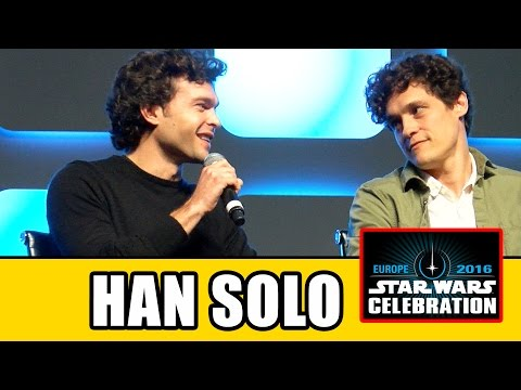 HAN SOLO MOVIE Star Wars Celebration Panel  Alden Ehrenreich
