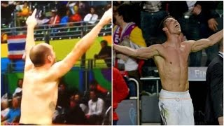 Ireland's Scott Evans Goes Full Ronaldo After First Olympic Win