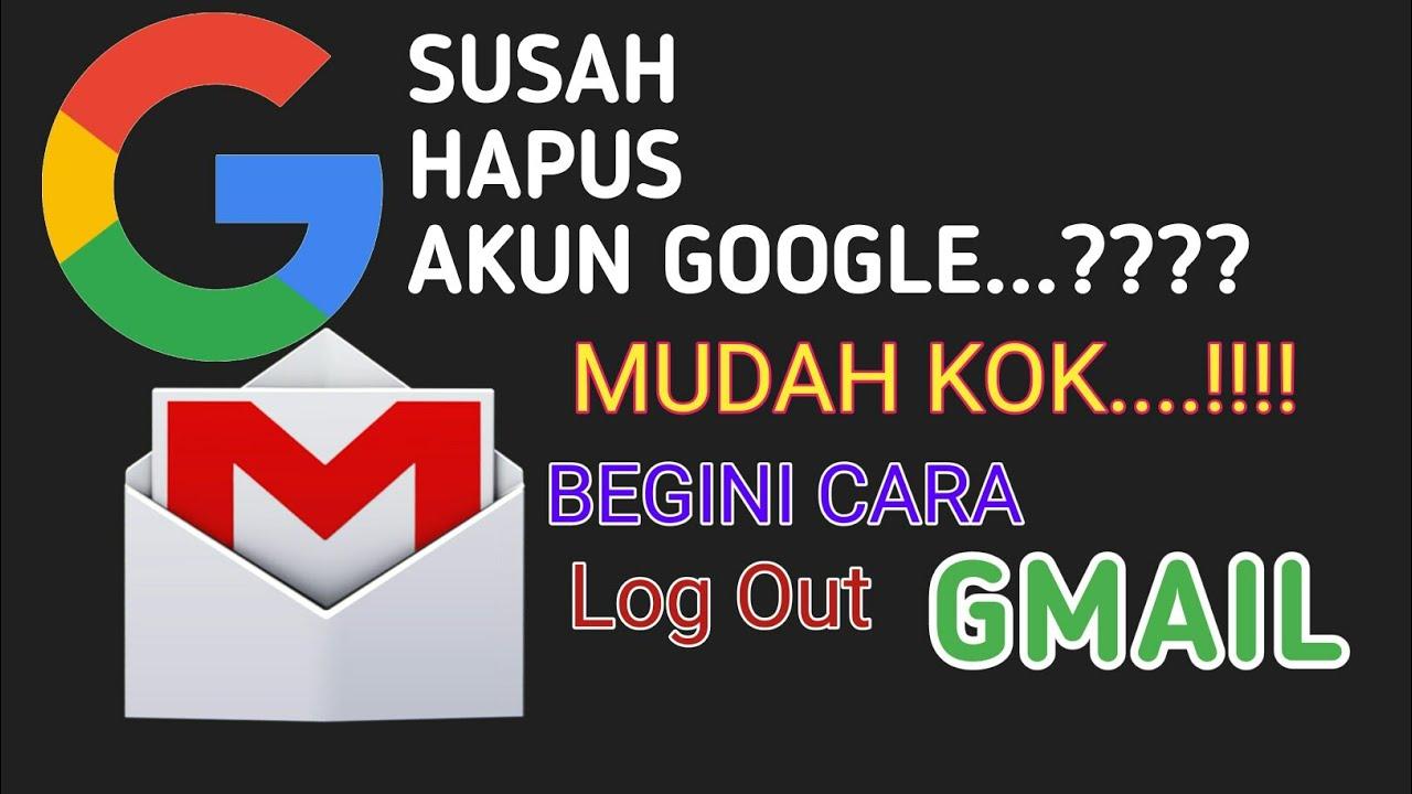 Cara Menghapus Akun Google Di Android | Semua Android - YouTube