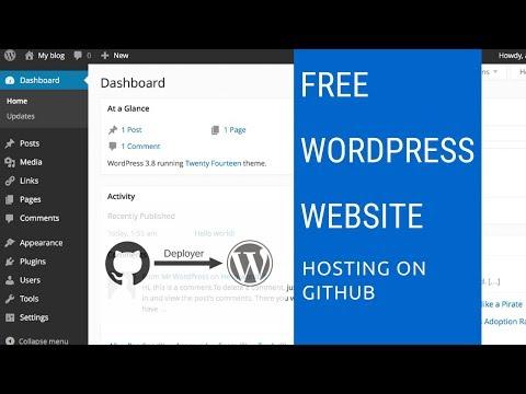 Free WordPress Website Hosting on GitHub