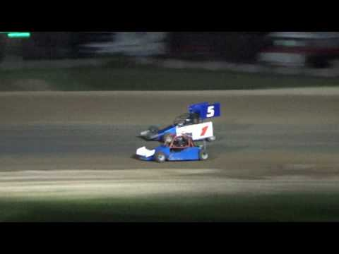 MORA Feature Race at Crystal Motor Speedway, Michigan, on 05-28-17.