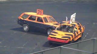 Motorsports Mayhem Demo Derby Figure -8 Racing 2016