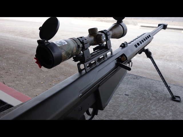 実弾射撃 バレット M82A1 .50口径狙撃銃 (Barrett M82A1 .50BMG)