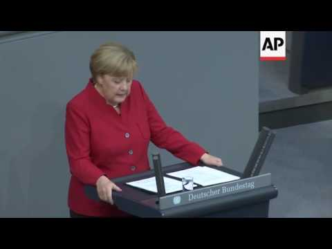 "Merkel: migrant situation ""many times better"""