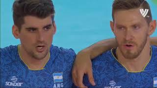 Men's VNL 2018: Argentina v Italy - Full Match (Week 2, Match 46)