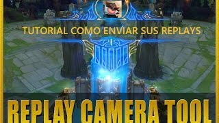 Tutorial SkinSpotlights Replays y Como enviar sus replays a Pheez