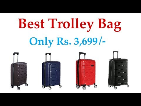 best Santorini trolley bag in india